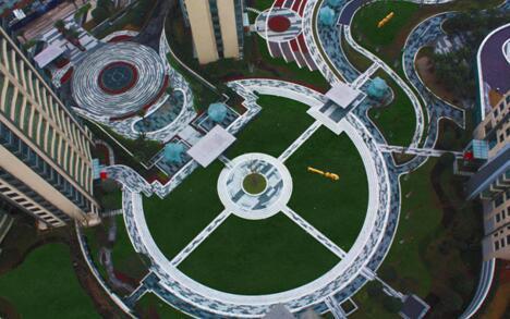 棕榈泉悦江国际:观江观园观中庭,赏心美景全收眼底