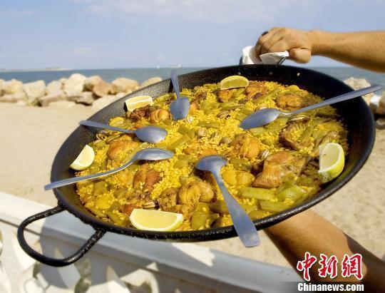 """迎""""世界海鲜饭日"""" 西班牙瓦伦西亚在穗推介美食文化"""