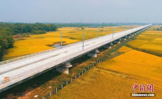 """鲁南高铁""""四电""""工程开工 预计2019年底建成开通"""