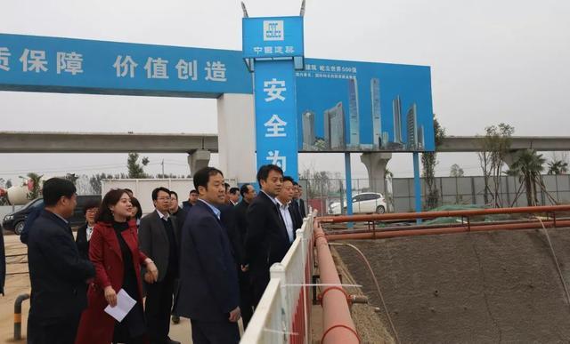 宜居环境丨沣西新城召开中国西部科技创新港市政配套项目现场推进会