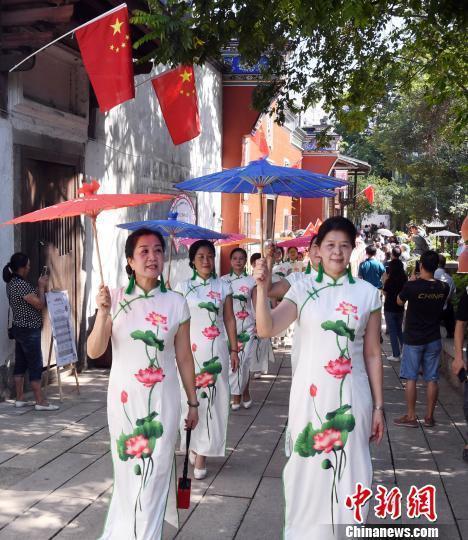福州上下杭历史文化街区开街 延续闽商百年繁华