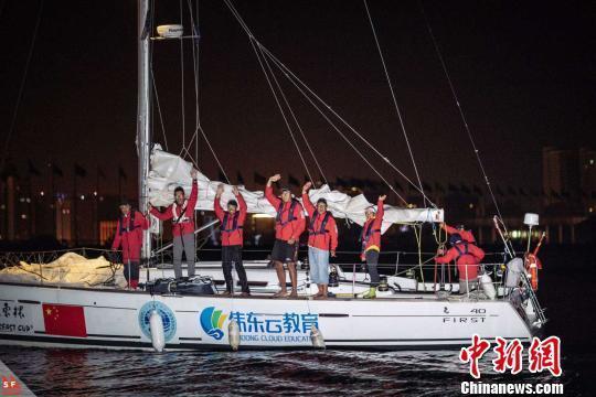 """2018""""远东杯""""国际帆船拉力赛收官(图)"""