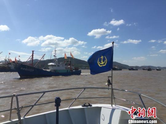浙江宁波沿海水域进入二级防台