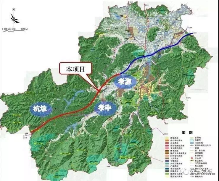 申嘉湖安吉段开工!上海至安吉车程不到1小时!