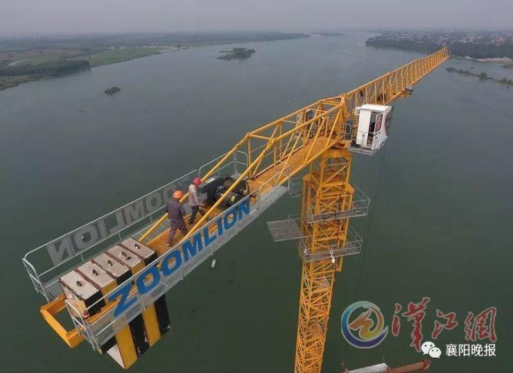 每年可运煤2亿吨以上!蒙华铁路汉江特大桥今日合龙