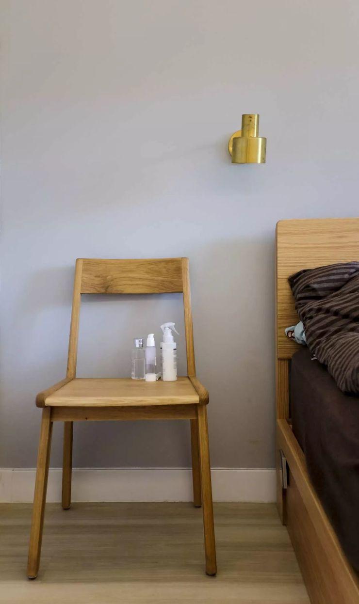 华仑港湾72㎡日系一居室  一家三口的生活起居