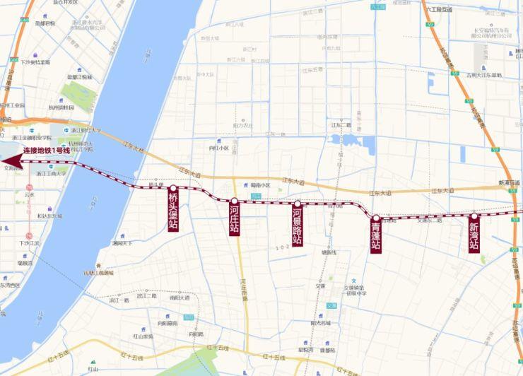 大江东地铁8号线一期5个站点方案图公示,将如何布置?