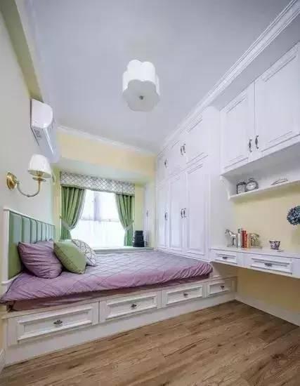 儿童房装修少不了榻榻米,安全实用又好看!