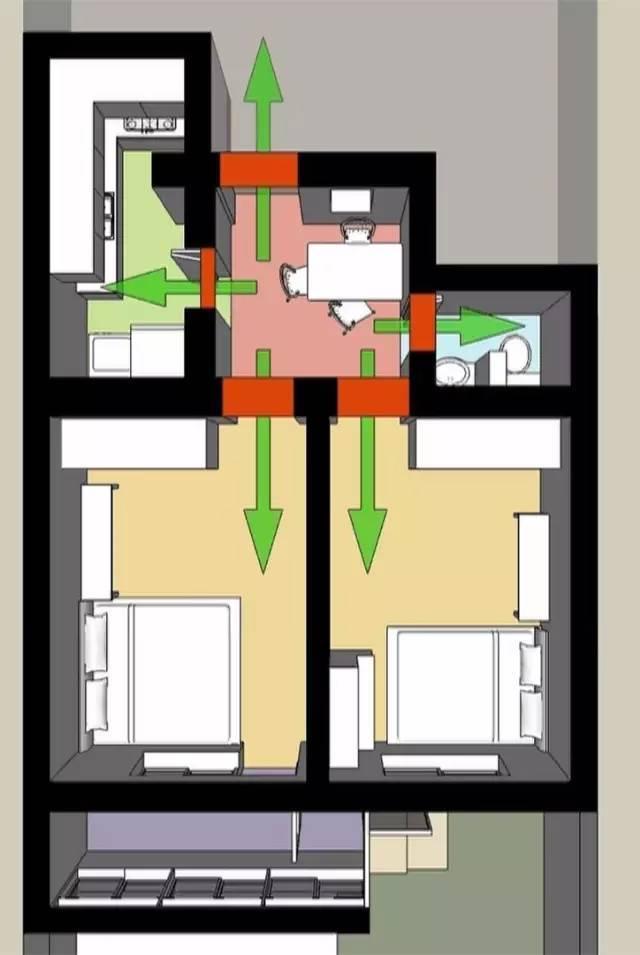 仅用了14天,设计师把一家6口老房改造成了时尚新家