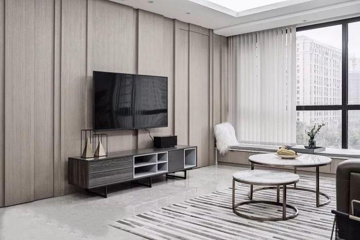 官山翰林120m²现代简约风,收纳与装饰两不误!